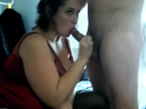 Big BBW Wife Sucking