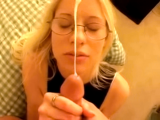 Hot Chick Is Not Really Into Getting A Facial