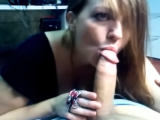 Amateur Ginger Gives POV Blow Job