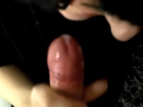 She loves to suck the head of my cock till I cum