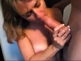 My fav milf sucking dick and getting a facial