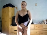 Charming blonde cock charmer sucking