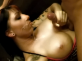 Busty German TitFuck & Facial