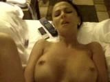 Busty And Horny Girlfriend On Bed