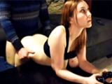 Redhead Teen Babe Fucked While Playing Console Game