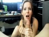 MILF's amazing blowjob