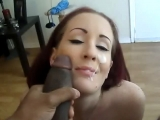 Sexy Whore Facial from a huge BBC