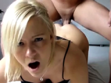 Amateur Anal - Blonde Teen Pumped Hard
