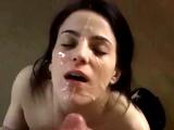 Nice big load, covered that slut nicely