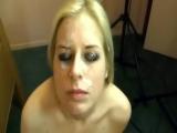 Jeny Hungarian slut sucking & fucking