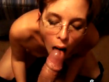 Giving my hubby some nice BJ before fucking....