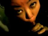 Asian sucking at home