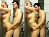 Sweet amateur couple filming their lovemakin