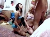 Little Sister's Slutty New Friends Get BUSTED