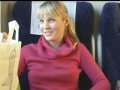 Public Amateur Blonde Blowjob in Train