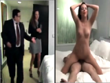 They play boss fucking his secretary