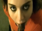 Sucking that dick good with damn pretty eyes