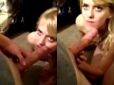 Petite Amateur GF Tastes Her First Cumshot