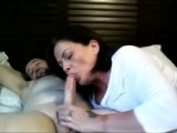 Damn, sexy woman and an amazing blowjob!