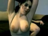 Sexy meaty dark haired german girl sextape