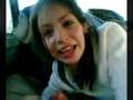 I filmed my hot girlfriend giving me road head in my car