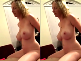 Secretly Filmed Busty English Professor Riding My Cock