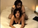 Amateur couple fuck in bedroom