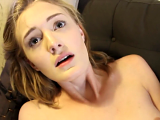 Sexy amateur chick fucked by older dude