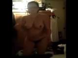 Wife with glasses blowjob