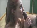 Watch her eyes looking in his eyes to see how much he is satisfied with her splendid blowjob