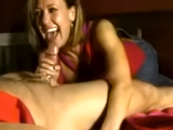 Hot sexy MILF makes him cum hard!