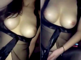 Amateur babe with perfect tits gives the perfect cock riding