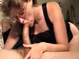 Deepthroatmamma - black satin deepthroat