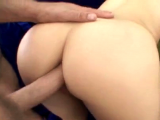 Blonde twins share a cock together, taking turns getting fucked up the ass
