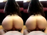 Fat ass gf get pounded hard