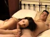 Horny Brunette Wife Fucked On Homemade Sex Tape