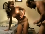 Amateur couple fucking in different sexy positions at home