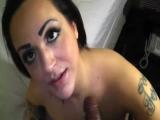 Seattle slut Kiki blows like a champ