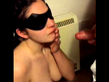My young hotwife sucking 2 strangers cocks and swallowing their cum