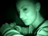 Nightvision blowjob girlfriend sucking hard