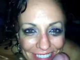 Dick sucked in hot tub