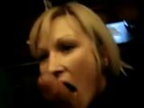 Amateur Blonde Wife POV Blowjob And Handjob