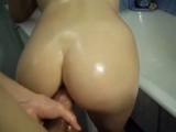 Amateur Blonde Blowjob & Anal Fuck
