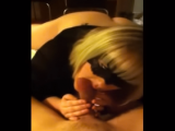 Masked Amateur MILF gives a POV BJ