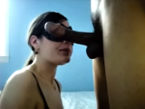 A good deepthroat blowjob with great final