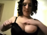 Girl from Kansas sucking dick and titty fucking