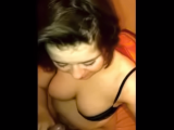 She sucks a black cock