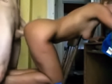 Sexy GF Keeps Moaning Being Fucked Doggystyle