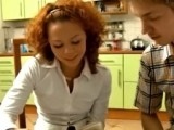 Redhead teen loves anal