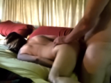It is a portion of our first sex video, hope you like it